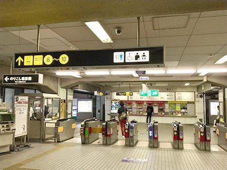 東京中央美容外科江坂院 御堂筋線ルート01