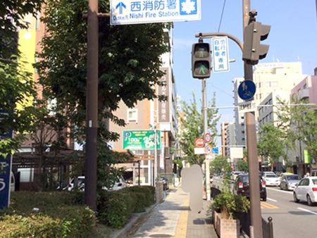 東京中央美容外科江坂院 御堂筋線ルート08