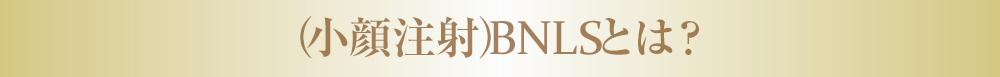 (小顔注射)BNLSとは?