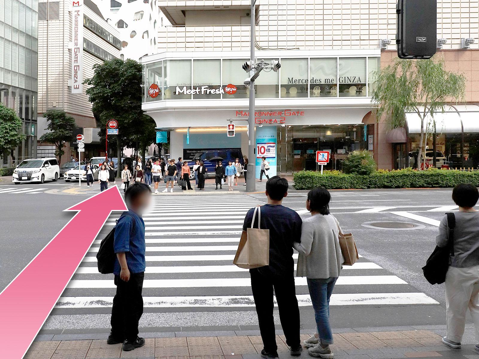 東京中央美容外科銀座二丁目院JRルート04