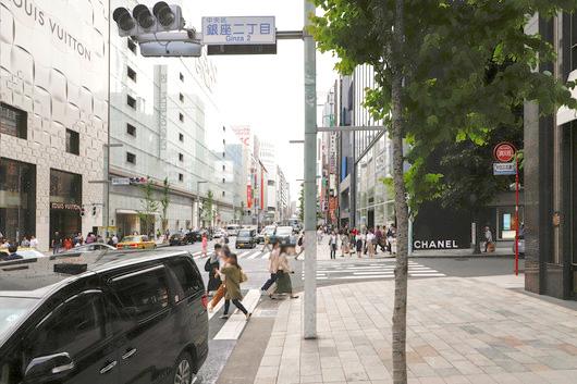 東京中央美容外科銀座院東京メトロ銀座一丁目駅ルート03