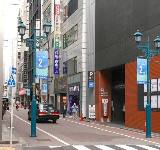 東京中央美容外科銀座院東京メトロ銀座一丁目駅ルート05