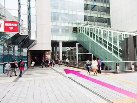 東京中央美容外科浜松院JRルート03