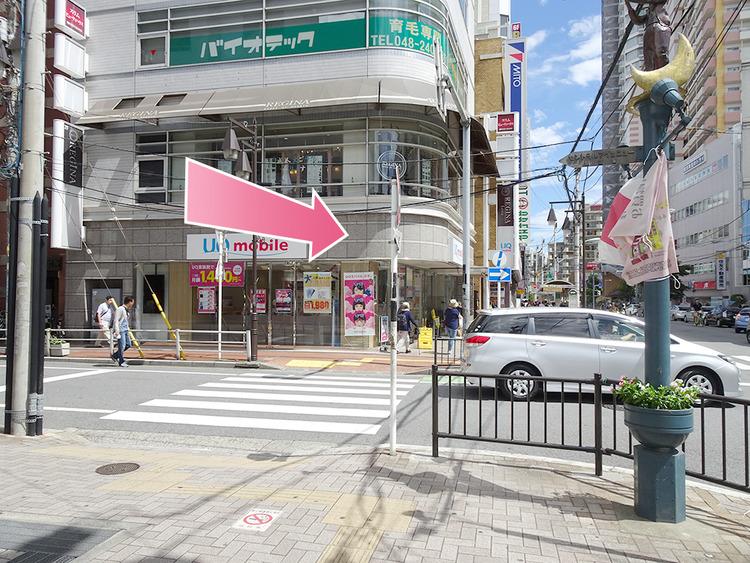 東京中央美容外科川口院 JRルート06