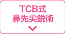 TCB式鼻先尖鋭術