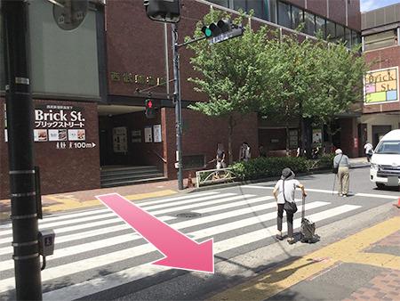 東京中央美容外科新宿院 本院丸ノ内線ルート09