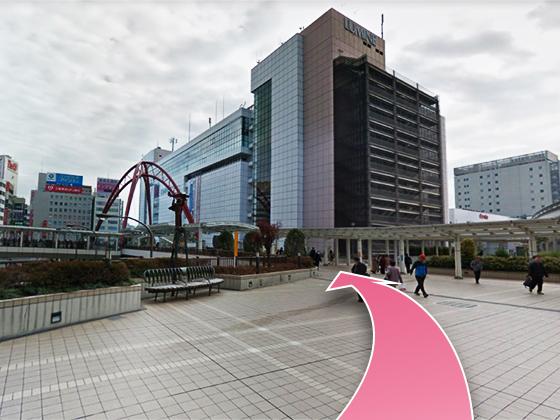 東京中央美容外科立川院モノレールルート03
