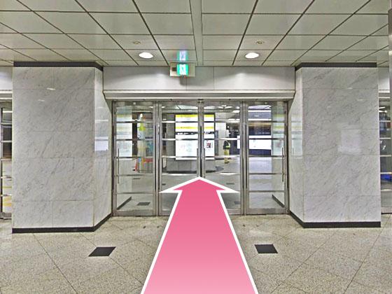 東京中央美容外科梅田茶屋町院JRルート03
