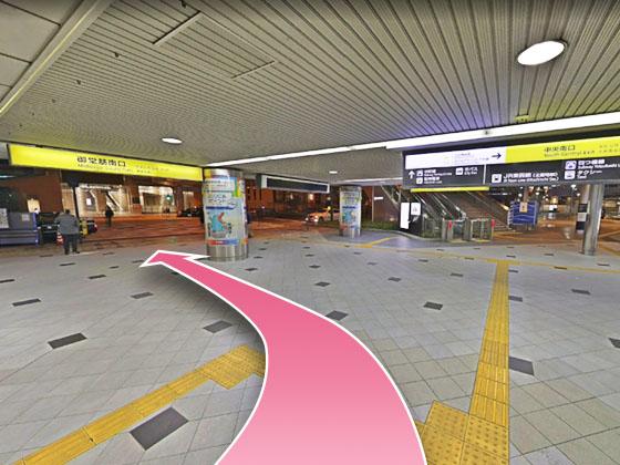 東京中央美容外科梅田茶屋町院JRルート04